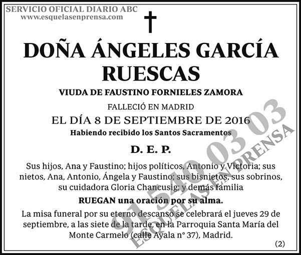 Ángeles García Ruescas